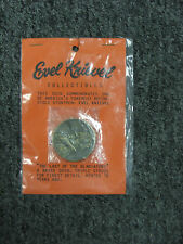 """UNOPENED EVEL KNIEVEL SOUVENIR TOKEN COIN """"The Last Of The Gladiators"""""""