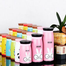 Kids Cartoon Animal Thermos Cup Cute Insulated Drinkware Water Bottle Vacuum Cup