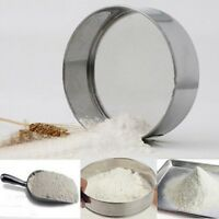 Mesh Flour Sifting Sifter Sieve Strainer Cake Baking Kitchen Tools