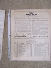 1937 Evinrude Fisherman Outboard Parts List 4227 4228 4251 MORE IN OUR STORE  S