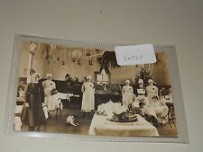 Old  postcard our ref #50728 VINTAGE UNKNOWN HOSPITAL CHILDREN'S PARTY