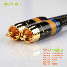 SMSL W6 RCA-RCA OYAIDE OCC Audio Cable RCA Connector