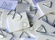 25 x Self Adhesive Hangers/ Hook/ Sticky Pads: Card, Picture, Paper, Tile, Plate