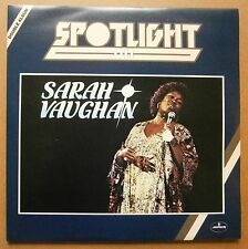 2LP Sarah Vaughan ‎– Spotlight On Sarah Vaughan Nm Vinyl Uk 1978 Jazz