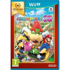 Mario PARTY 10 Wii U GIOCO (Selects) BRAND NEW