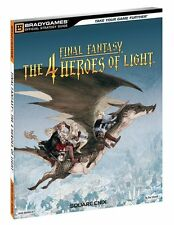 *NEW* OSG Final Fantasy: The 4 Heroes of Light Strategy Guide by BradyGames
