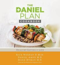 THE DANIEL PLAN COOKBOOK - RICK WARREN, Daniel Amen, Mark Hyman (HARDCOVER) NEW