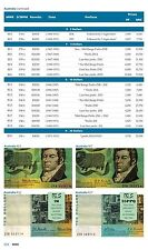 2014 Mehilba World paper Money replacement Catalog Guide MWR