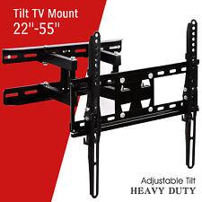 """22""""-55""""Articulating Swivel LCD LED Plasma Tilt Full Motion TV Wall Mount Bracket"""