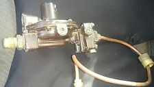 Propane gas rego lp regulator lv404 twin stage used with pigtail and male flare