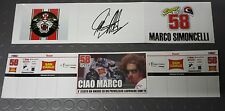 MINICHAMPS MARCO SIMONCELLI 1/12 - BANNER BOX VALENCIA 2011 - LIMITED EDITION