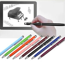10pcs 2 in1 Touch Screen Stylus Ballpoint Pen for Cell Phone Tablet Android Top