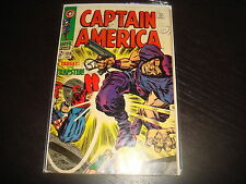 CAPTAIN AMERICA #108 Jack Kirby   Marvel Comics 1968 VG