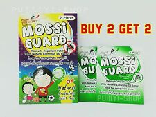 Buy 2 Get 2 Mossi Guard Anti Mosquito Repellent Patch Natural Extract
