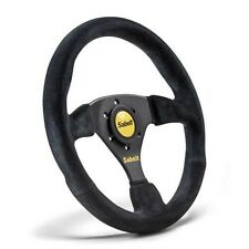 Sabelt SW-633 Steering Wheel 330mm suede - black suede - flat - anatomical grip