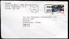 Canada 1995 Commercial Cover To England #C30814