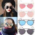 Women's Gold Retro Cat Eye Sunglasses Oversized Designer Vintage Fashion Shades