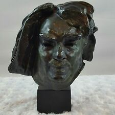 Sculpture of Balzac-A. Rodin-Alexis Rudier Fondeur Paris  Head Bust