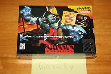 Killer Instinct (Super Nintendo SNES) NEW SEALED V-SEAM, NEAR-MINT, RARE!