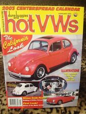 Dune Buggies and Hot Vws Magazine February 2003 VW