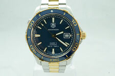 TAG Heuer Aquaracer Calibre 5 WAK2120.BB0835 Mens Automatic Watch Box & Papers
