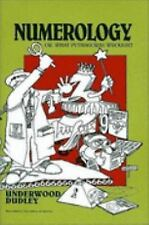 Numerology: Or, What Pythagoras Wrought (Spectrum), Dudley, Underwood, 088385524