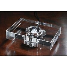 LG Crystal LED Rectangle Figurine Base Electric NEW N Box Deluxe Last Ones Sale!