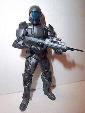 Halo 3 Series 2  **UNSC ODST ORBITAL DROP SHOCK TROOPER** Complete w/ Weapon