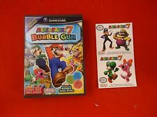 Mario Party 7 Nintendo Gamecube Promo Empty Bubble Gum Candy Case w/ STICKERS!