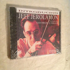 INTRODUCING JEFF JEROLAMON FEATTURING GEORGE CABLES CANDID CCD 79522