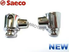 SAECO – CHROMED UPPER AND LOWER STEAM TUBE COVER SET FOR ODEA AND TALEA MODELS