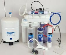 5 STAGE REVERSE OSMOSIS WATER SYSTEMS 150GPD MEMBRANE & PERMEATE PUMP ERP-1000