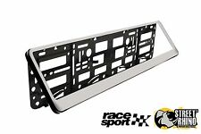 Renault Trafic Race Sport Chrome Number Plate Surround ABS Plastic