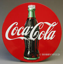 ANDE ROONEY COCA COLA TIN SIGN 14 1/4 advertise coke soft drink pop soda 2180051