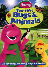 Barney: Tee-rific Bugs & Animals (DVD, Full screen) NEW SEALED