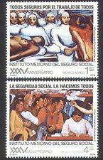 Servicio de Salud de México 1978/Bienestar/médico/médico/Enfermeras/pacientes 2v Set n39835