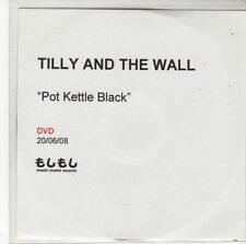 (ED636) Tilly And The Wall, Pot Kettle Black - 2008 DJ DVD