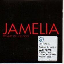 (AR734) Jamelia, Beware of the Dog - DJ CD