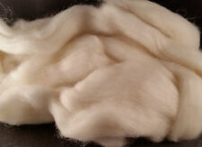 CRAZY Yak Roving 100% White 15 microns soft combed top spin 28 grams Fiber fibre