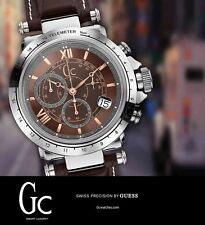 Guess Collection Gc B1-Class Leather Chronograph Mens Watch X44006G4