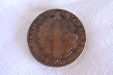 Pièce 2 sol 1792 A, Louis XVI, bronze