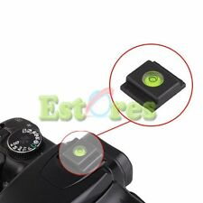 2Pcs Flash Hot Shoe Cover Cap Bubble Spirit Level for Canon Nikon Olympus Pentax