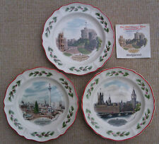 WEDGWOOD - QUEEN`S WARE CHRISTMAS PLATE COLLECTION