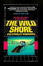 THE WILD SHORE (Kim Stanley Robinson/1st US/PBO/#1 Orange County)
