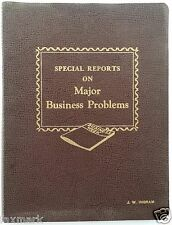 """""""Special Reports on Major Business Problems"""" - Business Week Book #2 - 1956..."""