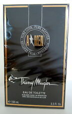 Thierry Mugler A MEN Pure Cuir Leather  100ml Eau de Toilette Spray NEU Folie