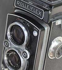 Decorative art photograph, Classic Rolleiflex camera, cir 1954, signed by artist