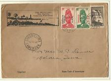 CAMEROON FRENCH 1941  COVER SANGMELIMA TO USA