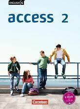 Cornelsen Englisch Lehrbuch Access 2 6.Klasse NEU