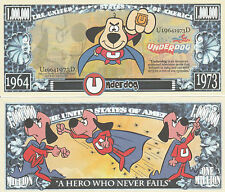 UnderDog Million Dollar Collectible Funny Money Novelty Note